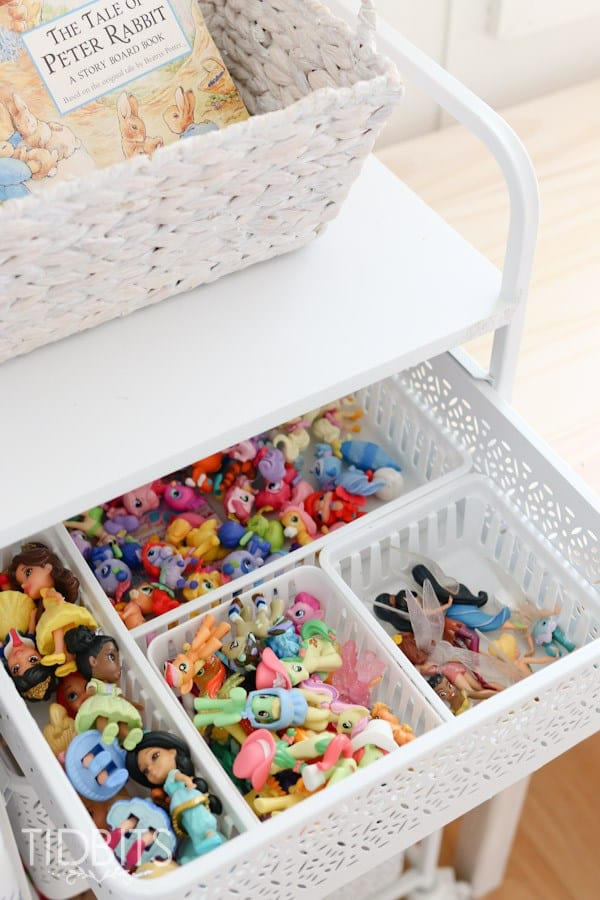small baskets full of toys