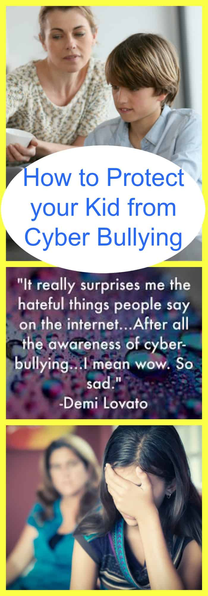 protect your kid from cyber bullying
