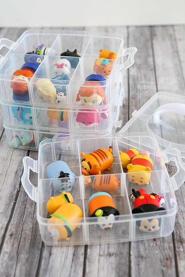 plastic containers with compartments