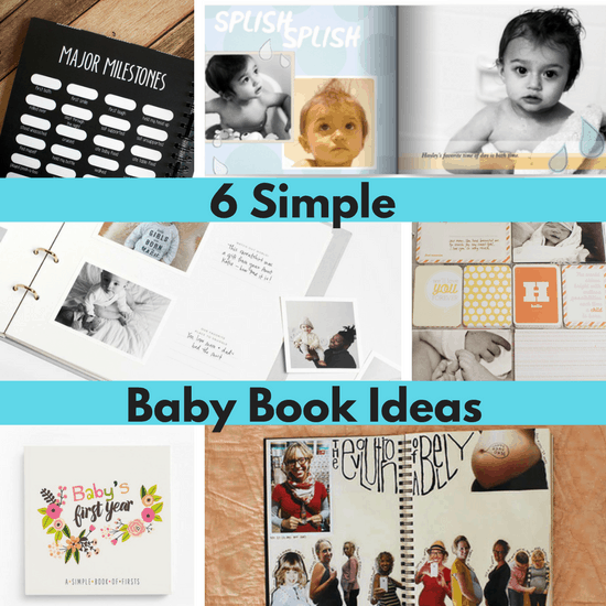 2d001c21de1c1 8 Baby Book Ideas - The Organized Mom