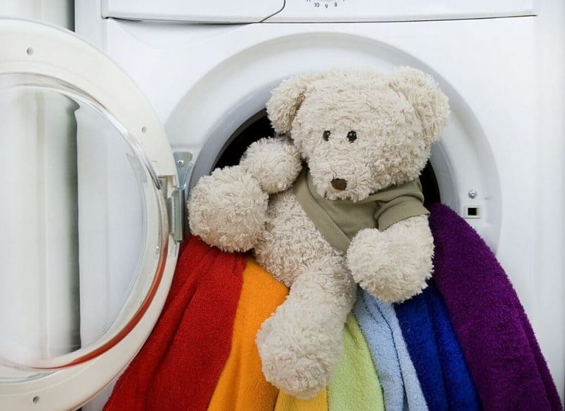 Toy in dryer