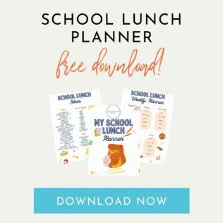 school lunch planner download