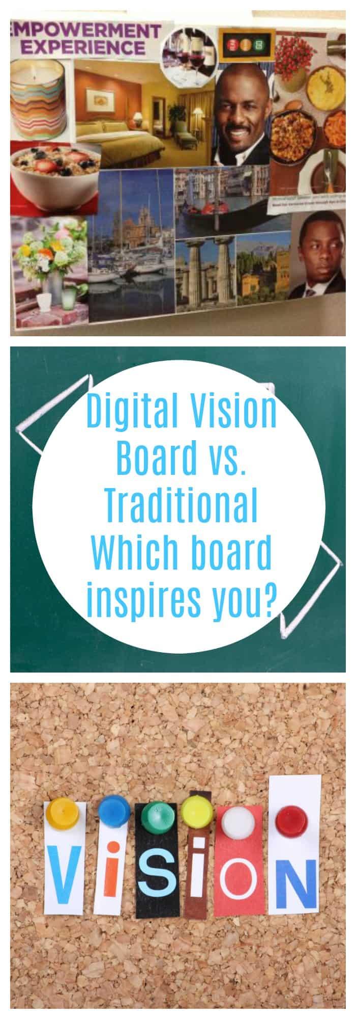 vision board