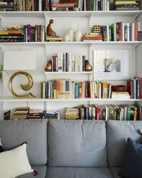 Organize Any Room With Track Shelving