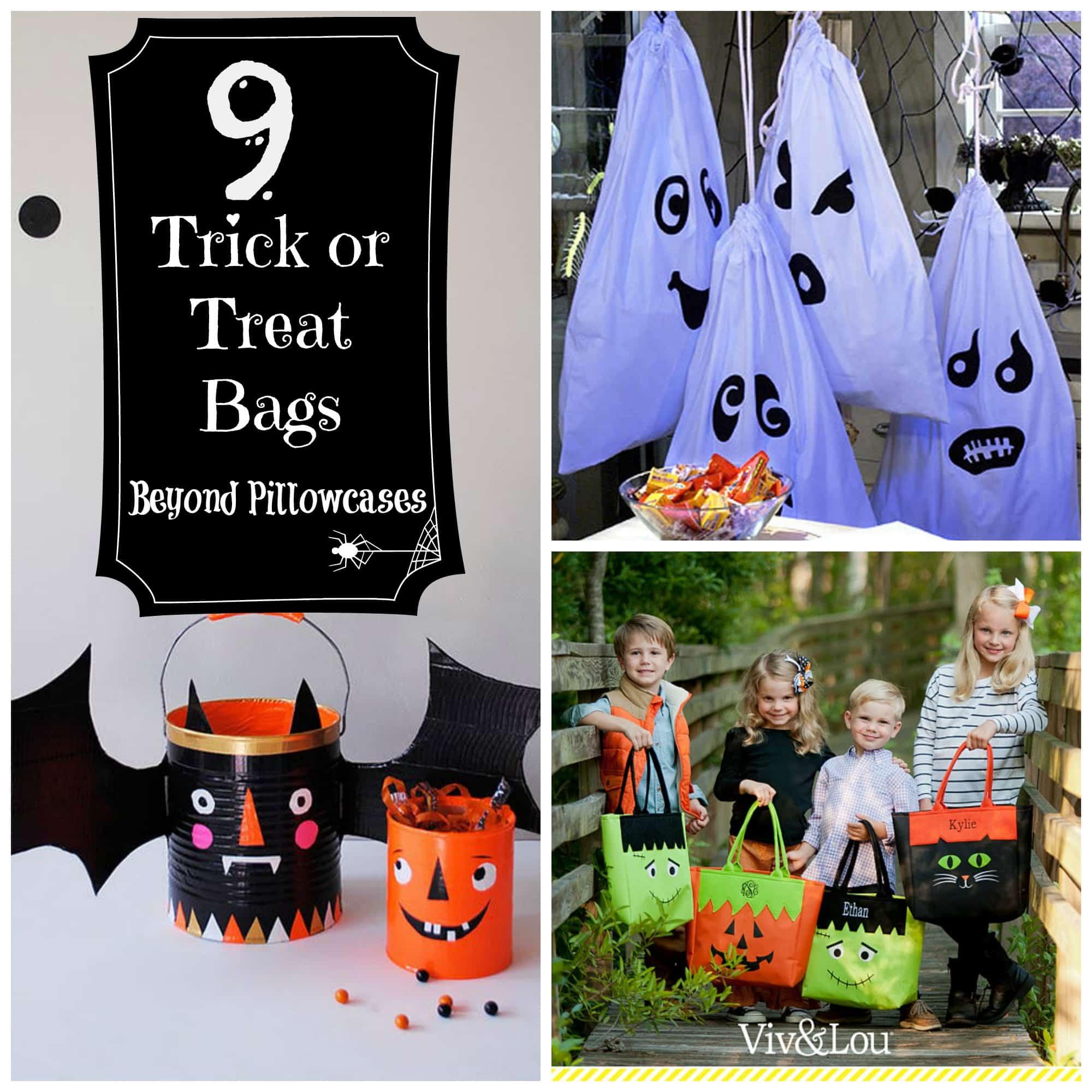 trick or treat halloween bags