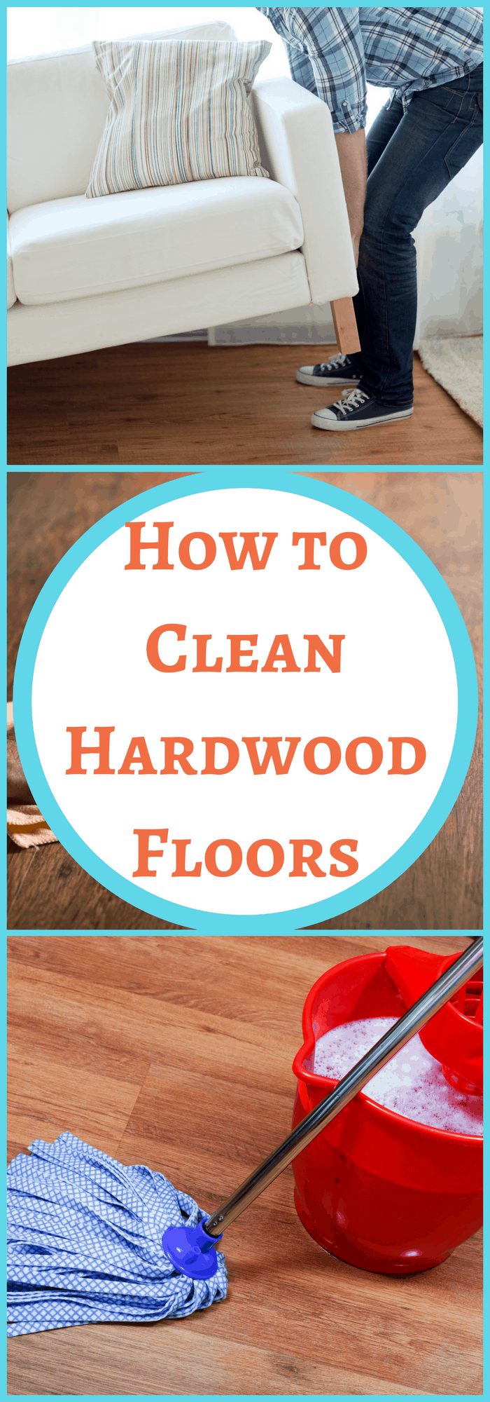 Cleaning-How to Clean Hardwood Floors-The Organized Mom