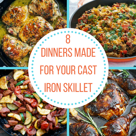 cast iron skillet dinners