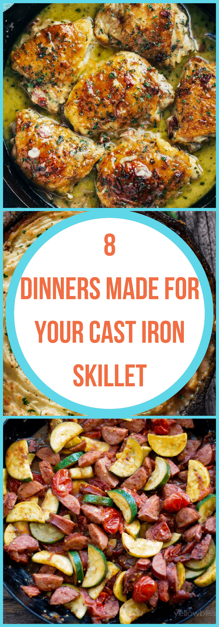 Cooking--Dinners Made for Your Cast Iron Skillet--The Organized Mom