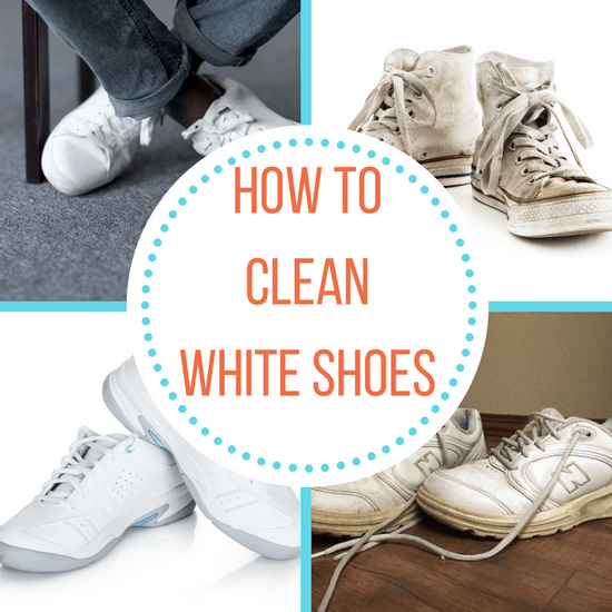 How To Clean Shoes So They Re White Again