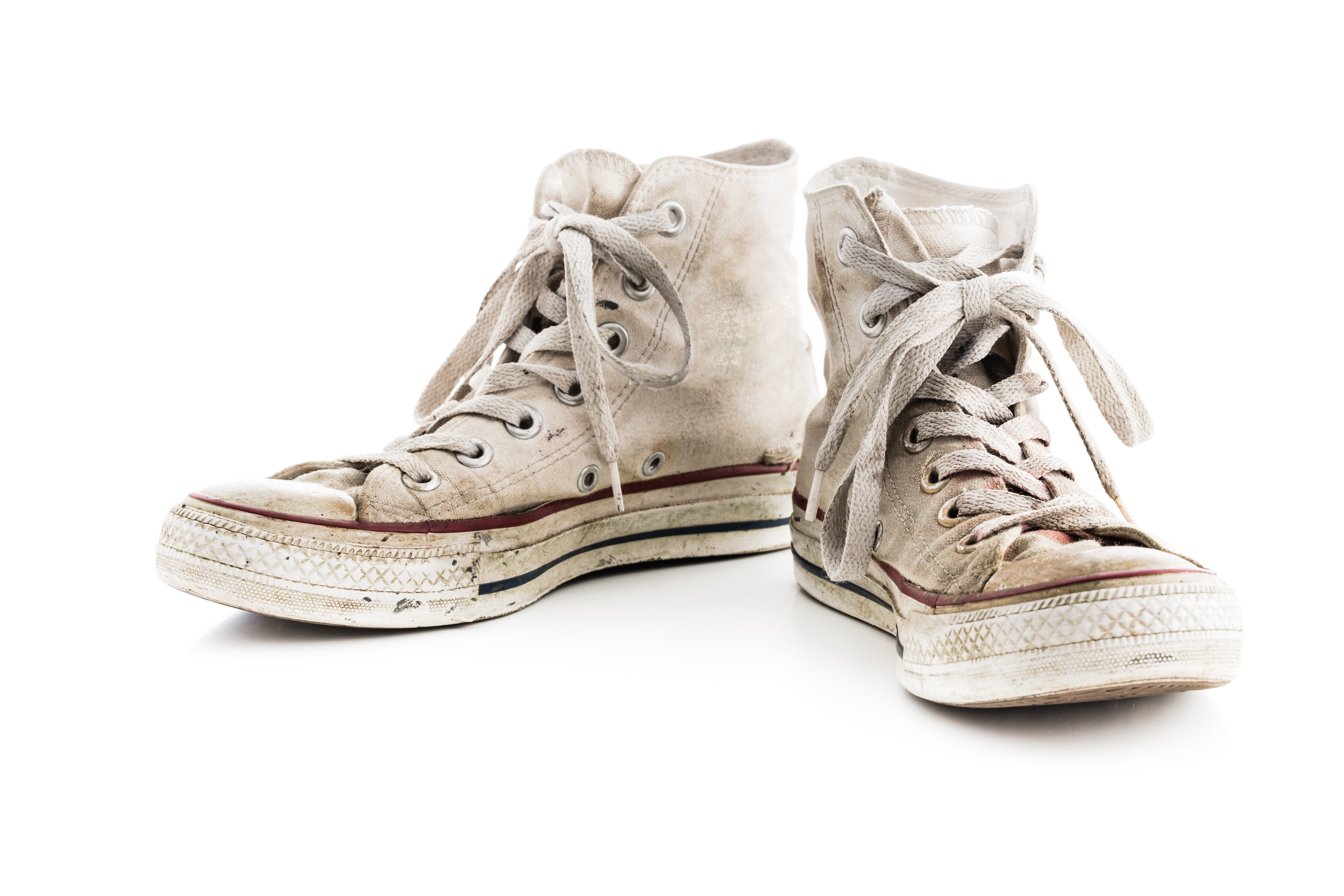 How to Clean White Shoes - The