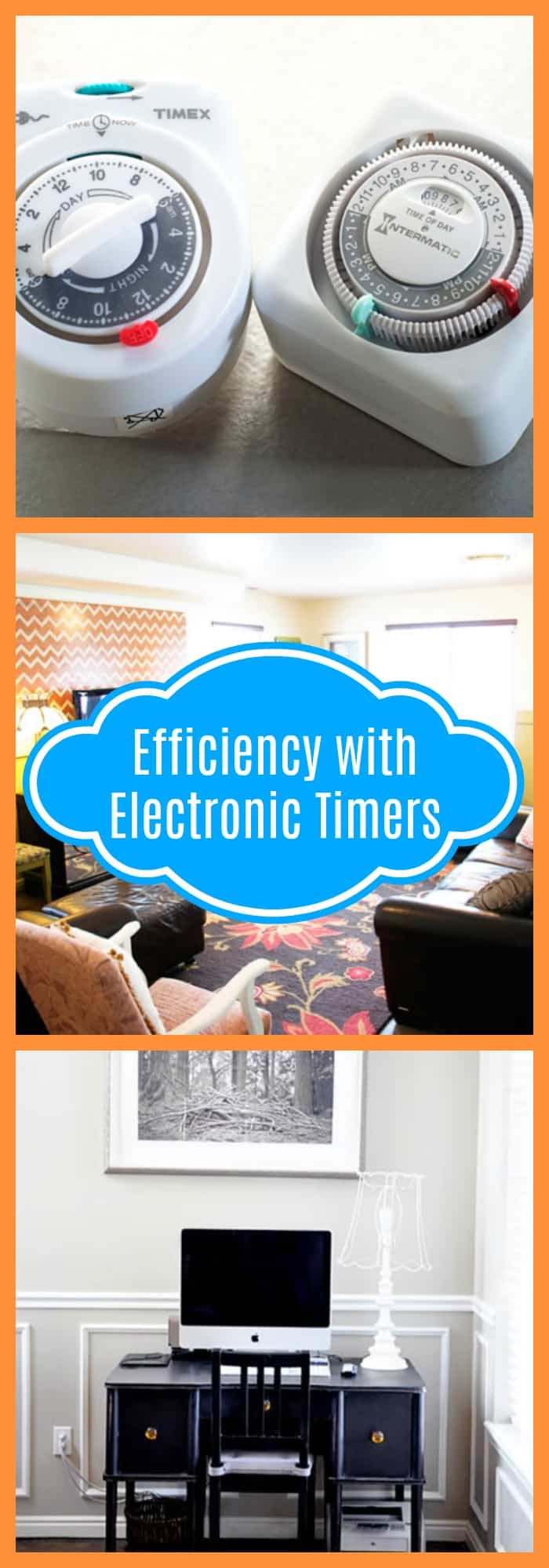 Home-Effieciency with Electronic Timers-The Organized Mom