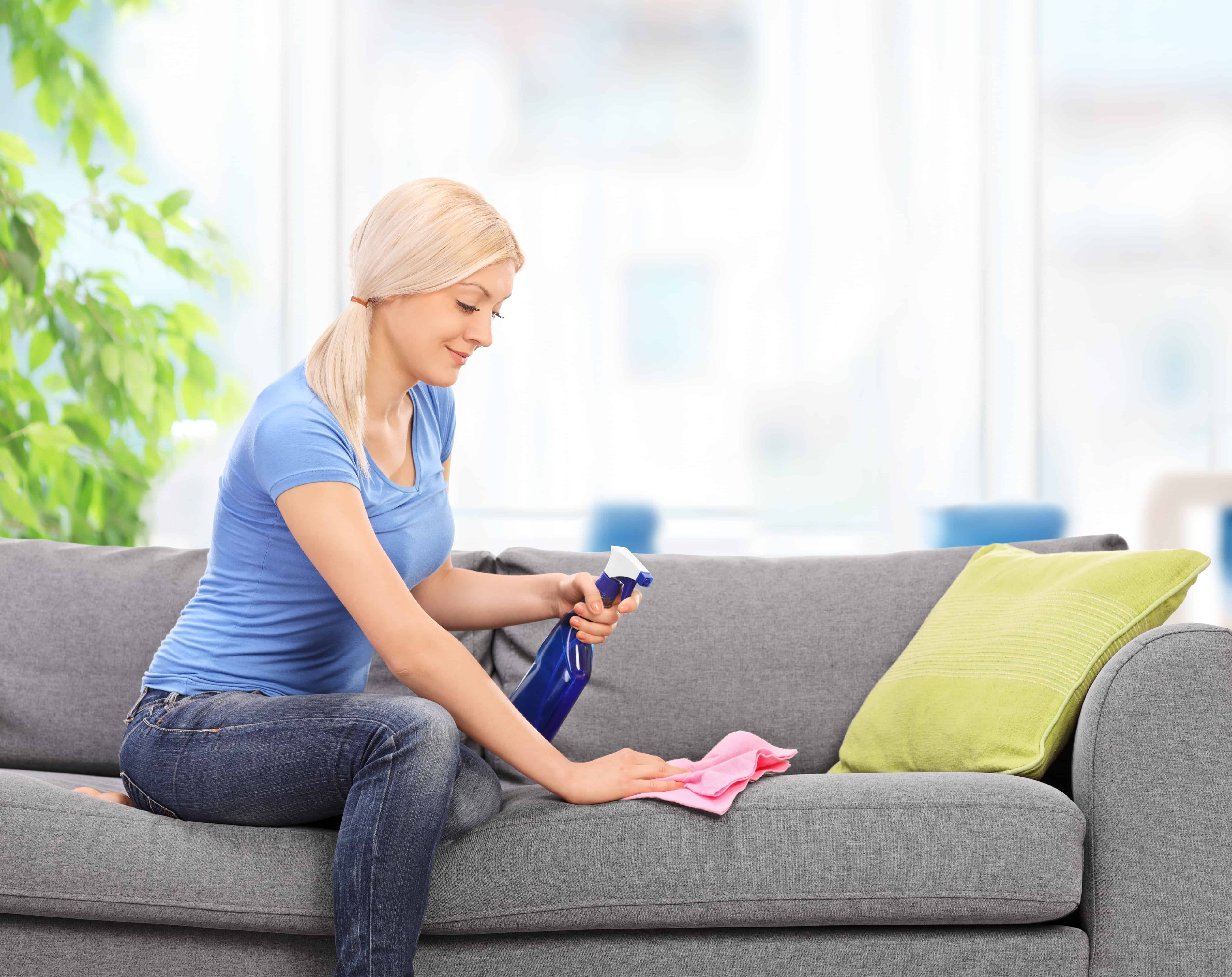 How To Clean A Microfiber Couch The Organized Mom