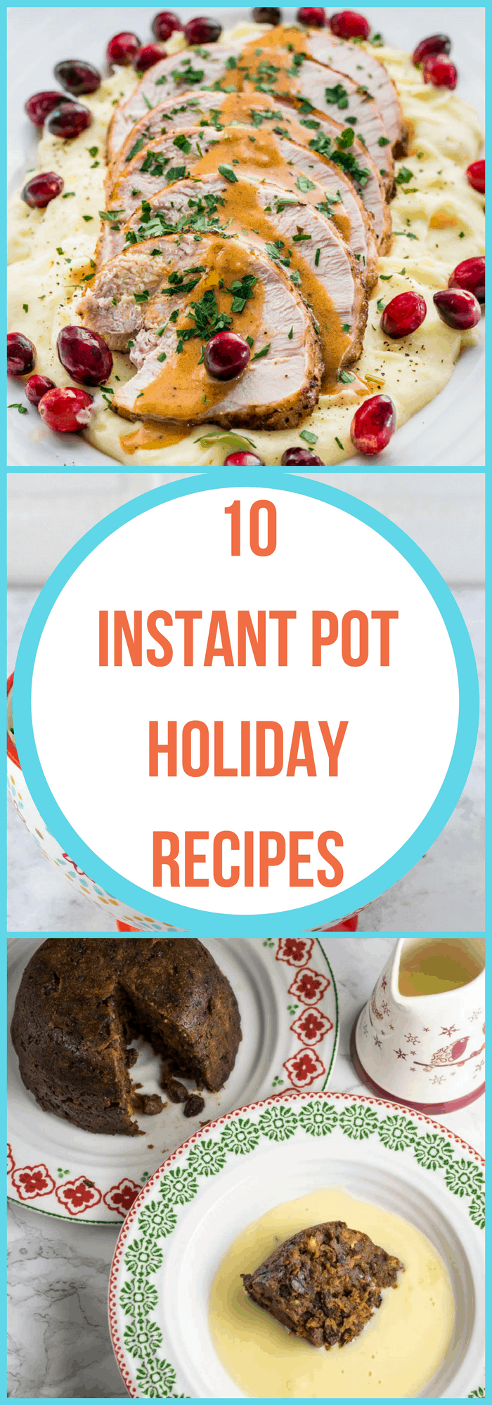 Cooking-10 Instant Pot Holiday Recipes--The Organized Mom