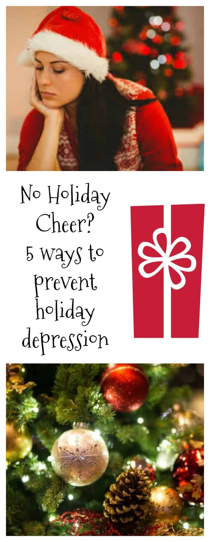 Holidays--No Holiday Cheer? 5 Ways to Prevent Holiday Depression--The Organized Mom