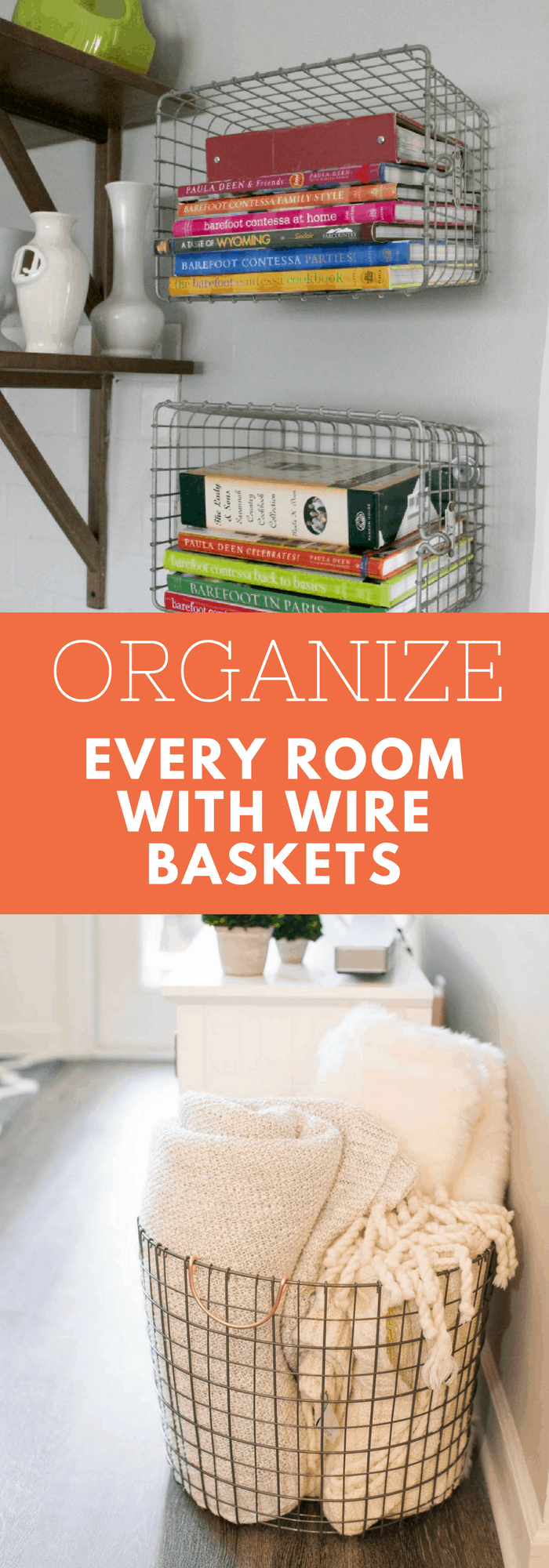 Organization--Organize Every Room with Wire Baskets