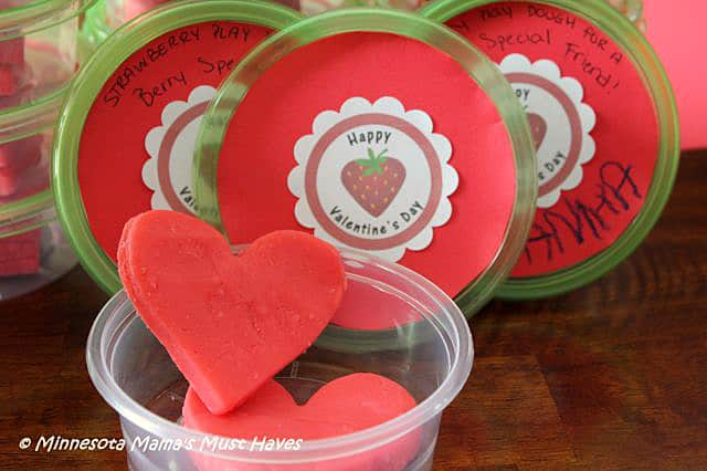 play dough valentines