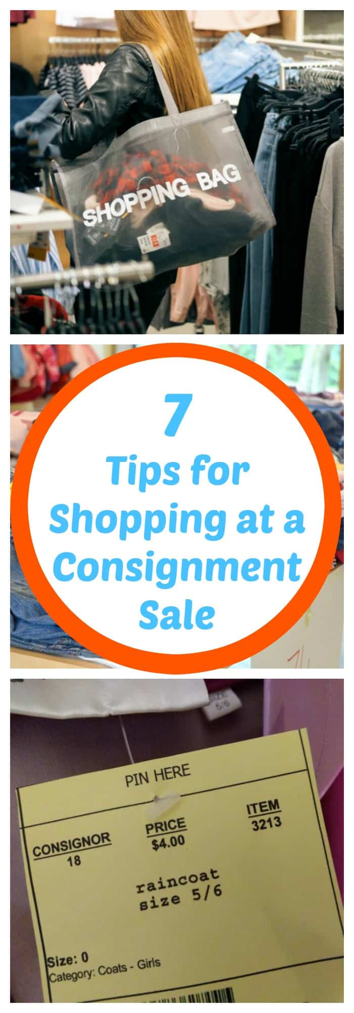 Shopping--7 Tips for Shopping at a Consignment Sale--The Organized Mom