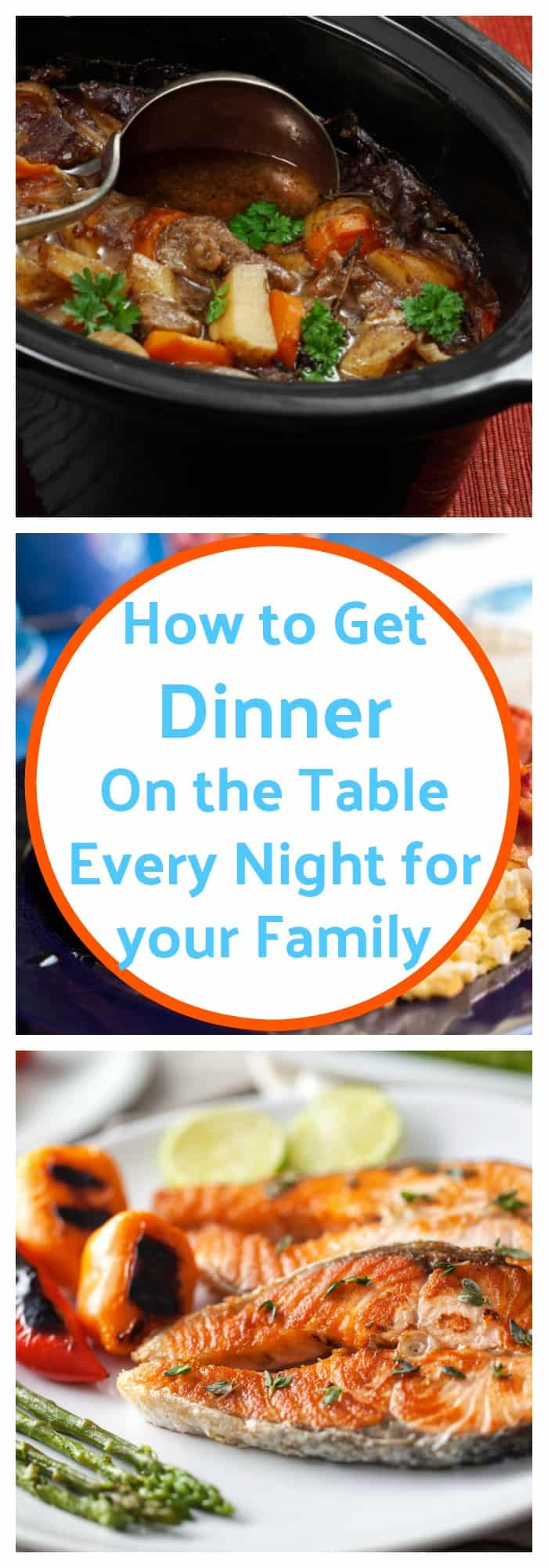 Cooking--How to Get Dinner on the Table Every Night for Your Family--The Organized Mom