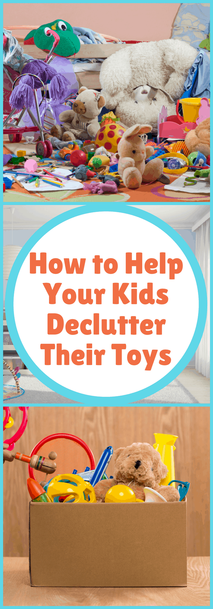 Organization--How to Help Your Kids Declutter Their Toys--The Organized Mom