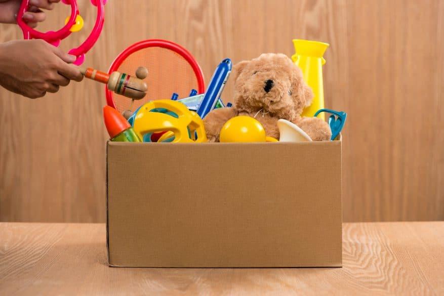 Declutter toys