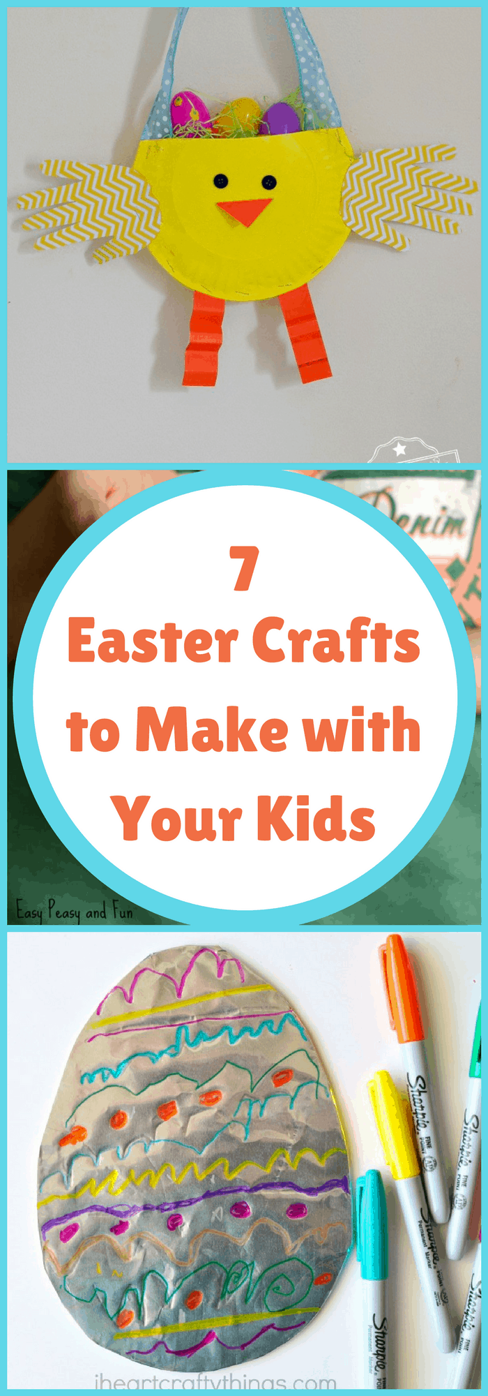 DIY--7 Easter Crafts to Make with Your Kids--The Organized Mom