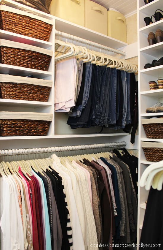 Swell 7 Tips To Make Your Small Closet Feel Twice As Big The Home Interior And Landscaping Ponolsignezvosmurscom