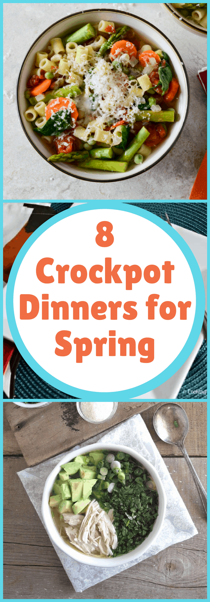 Cooking--8 Crockpot Dinners for Spring--The Organized Mom