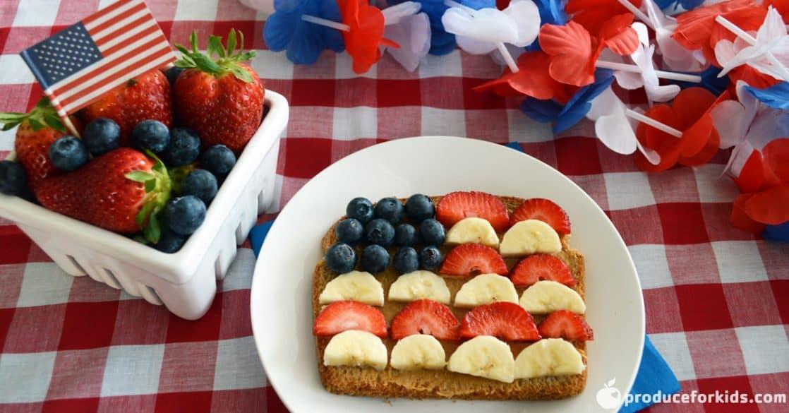 flag toast