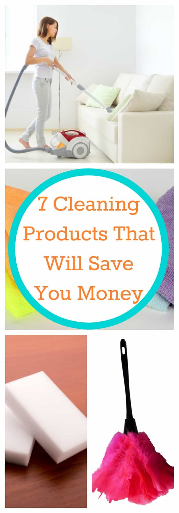 Cleaning--7 Cleaning Products That Will Save You Money--The Organized Mom