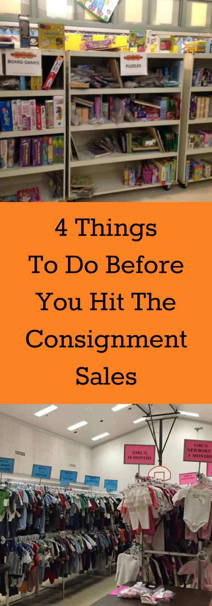 4 Things To Do Before You Hit The Consignment Sales--The Organized Mom