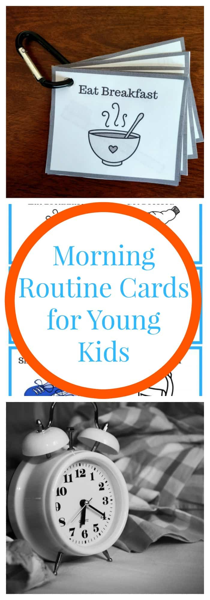 Parenting--Morning Routine Cards for Young Kids--The Organized Mom