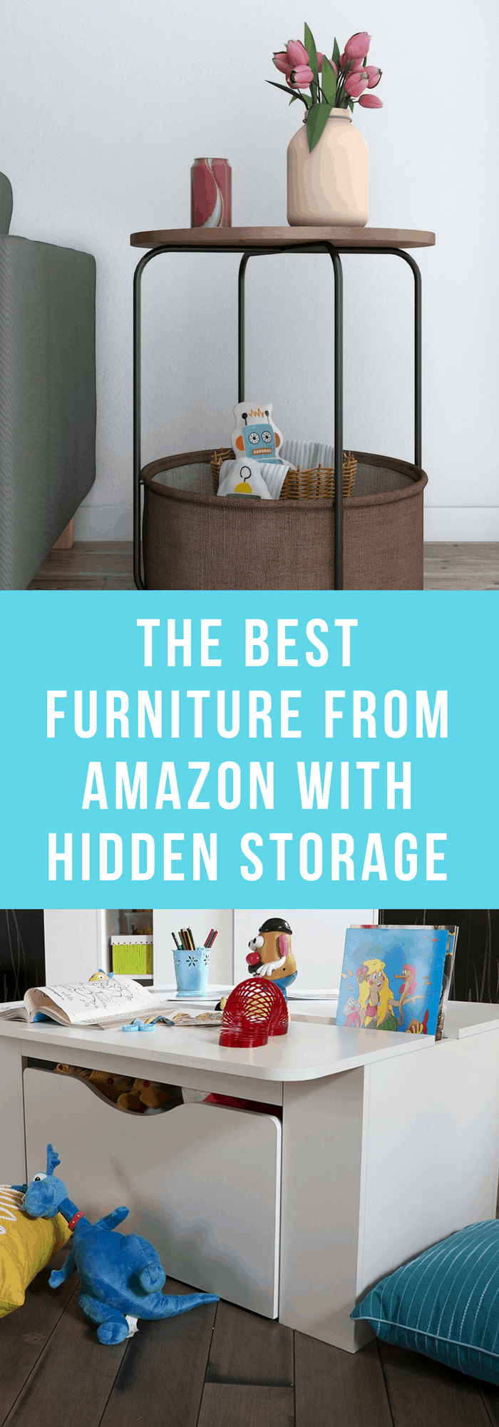 Furniture--The Best Furniture from Amazon with Hidden Storage--The Organized Mom