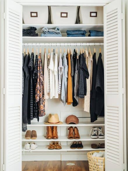 Peachy 7 Tips To Make Your Small Closet Feel Twice As Big The Home Interior And Landscaping Ponolsignezvosmurscom