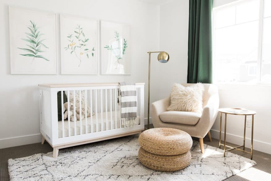 Get Inspired By Serene And Gender Neutral Nurseries The