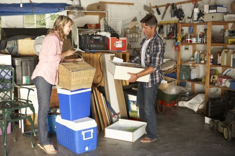 garage clutter