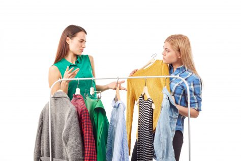 cleaning out your closet clutter