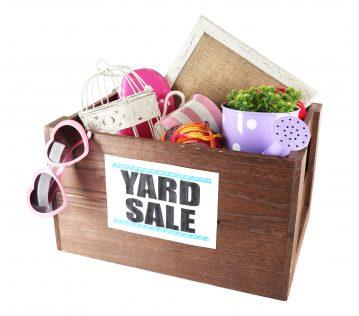 yard sale box