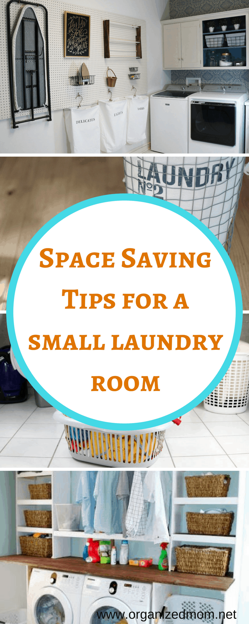 Space Saving Tips For A Small Laundry Room The Organized Mom