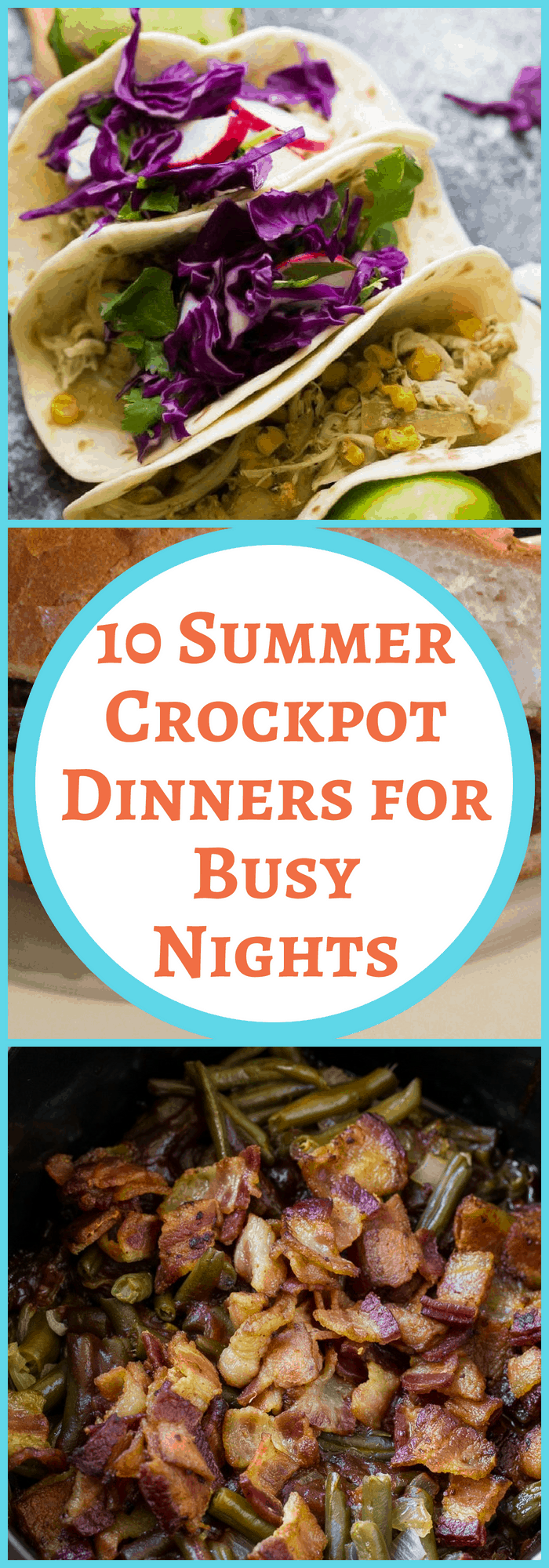 summer crockpot dinners