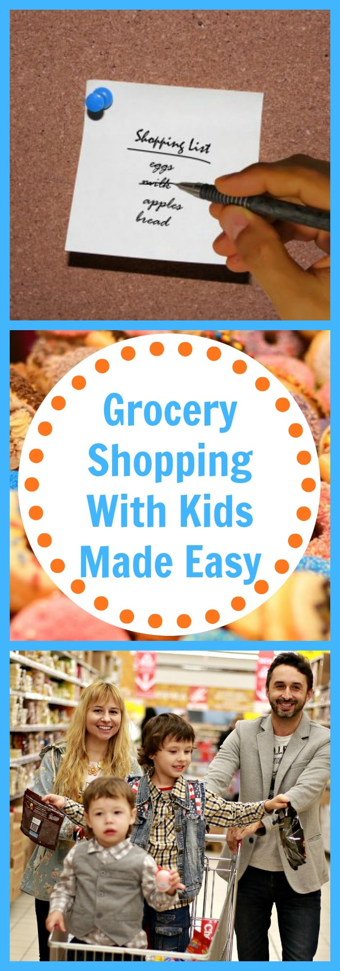Parenting--Grocery Shopping With Kids Made Easy--The Organized Mom