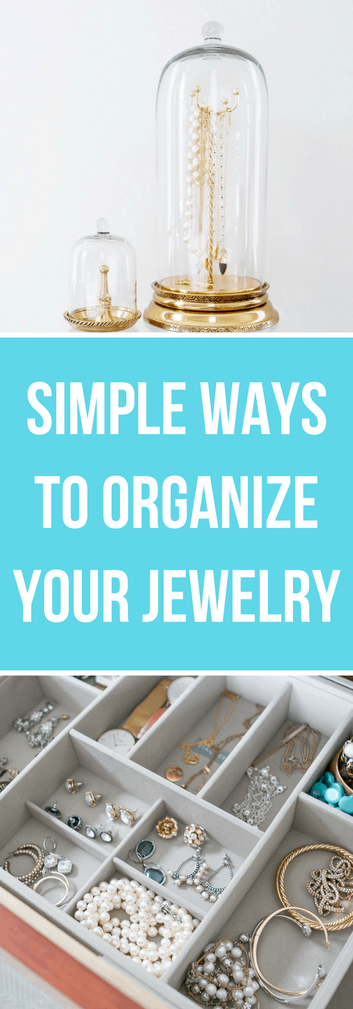 Organization--Simple Ways to Organize Your Jewelry--The Organized Mom