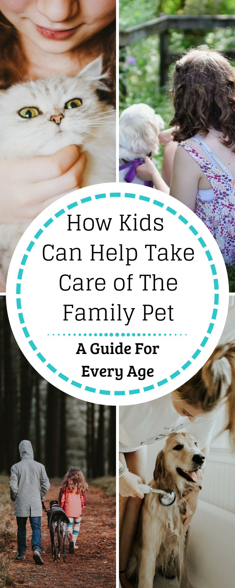 Kids and Pets--How Kids Can Help Take Care of the Family Pet