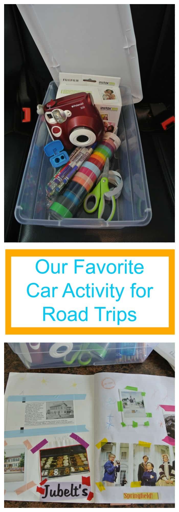Travel--Our Favorite Car Activity for Road Trips--The Organized Mom