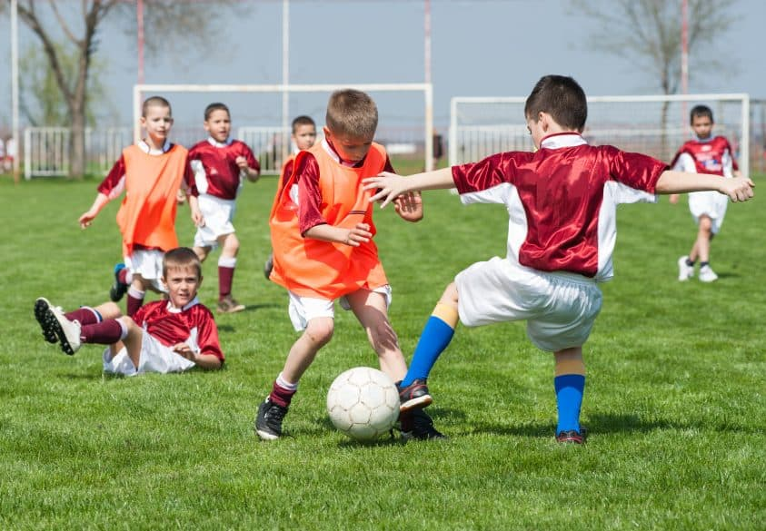 fall sports for kids