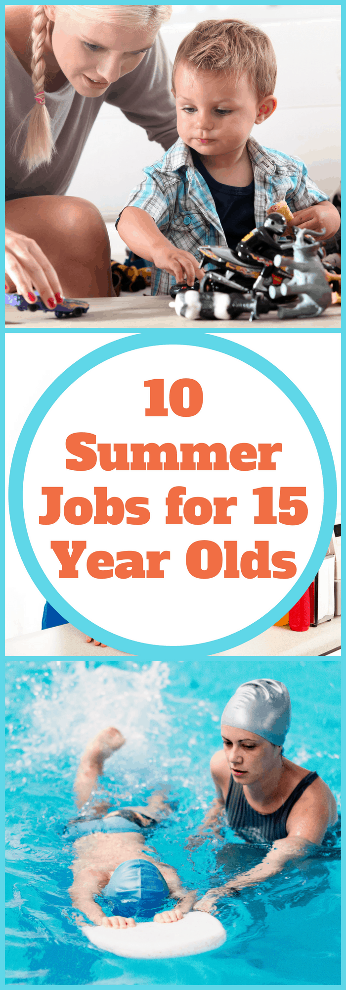Summer Jobs for 15-year-olds