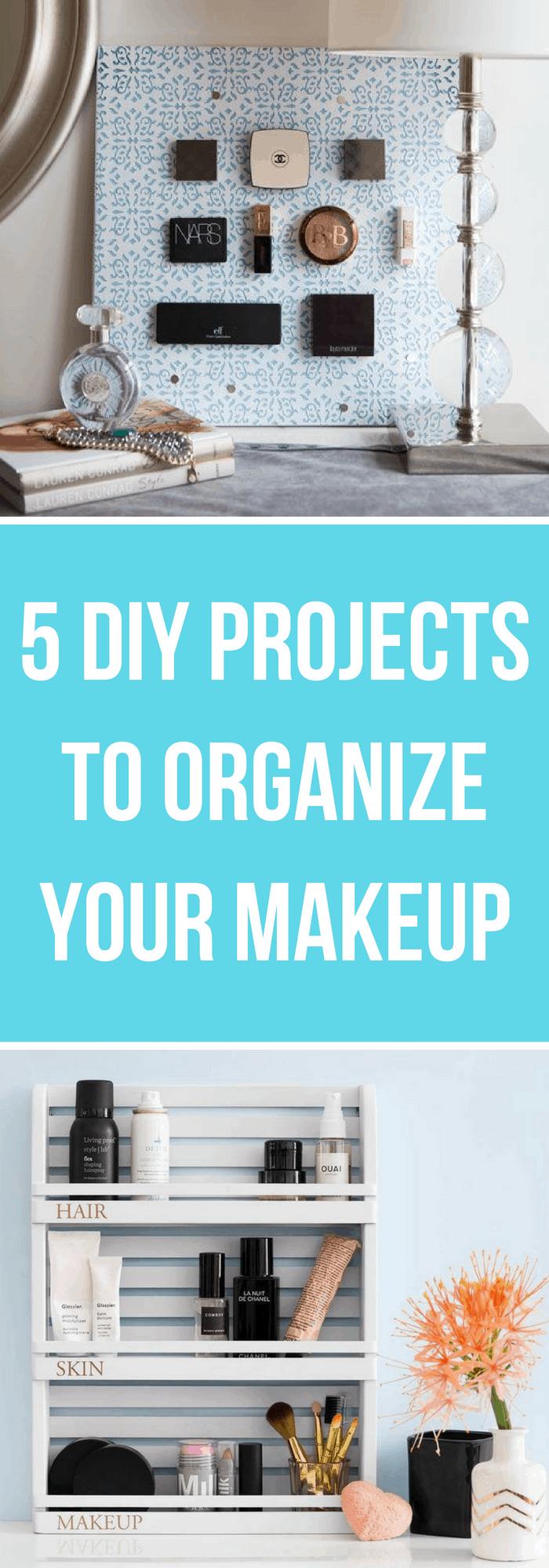 5 DIY Makeup Desk Ideas
