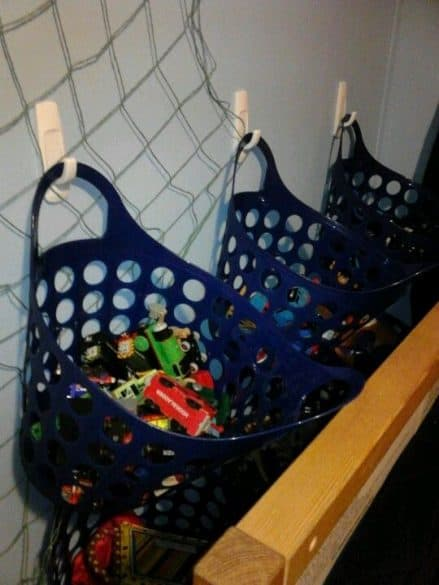 organize your playroom toys