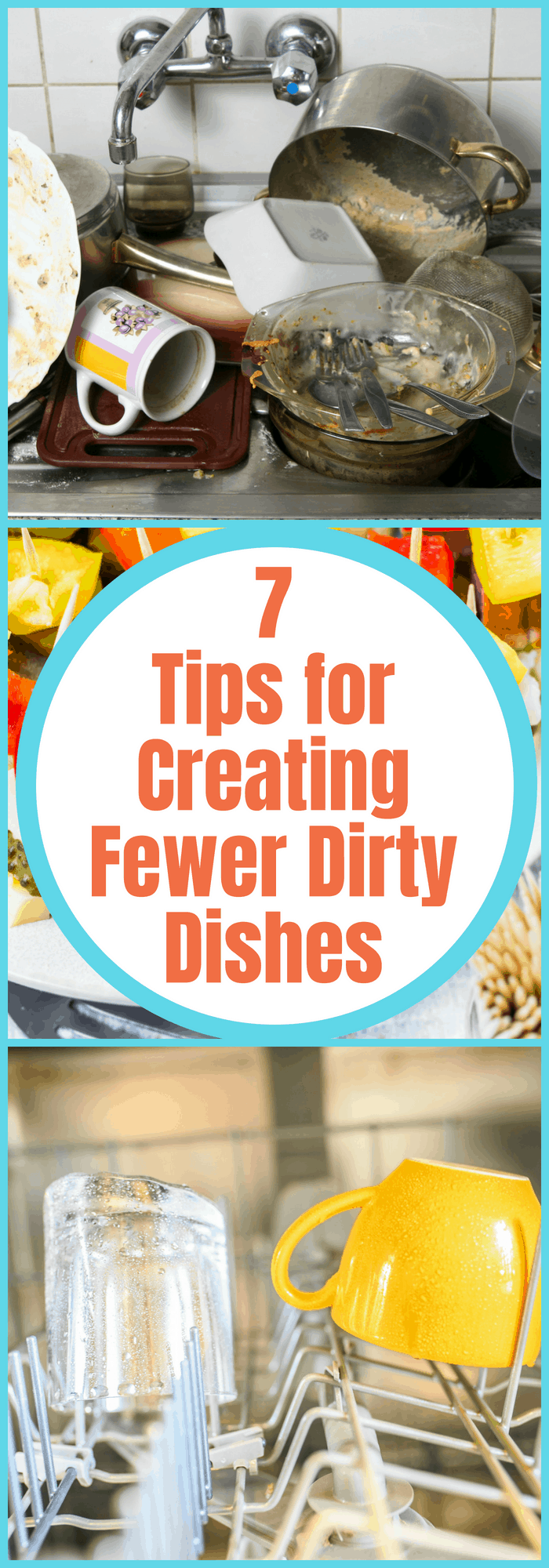 7 Tips for Creating Fewer Dirty Dishes