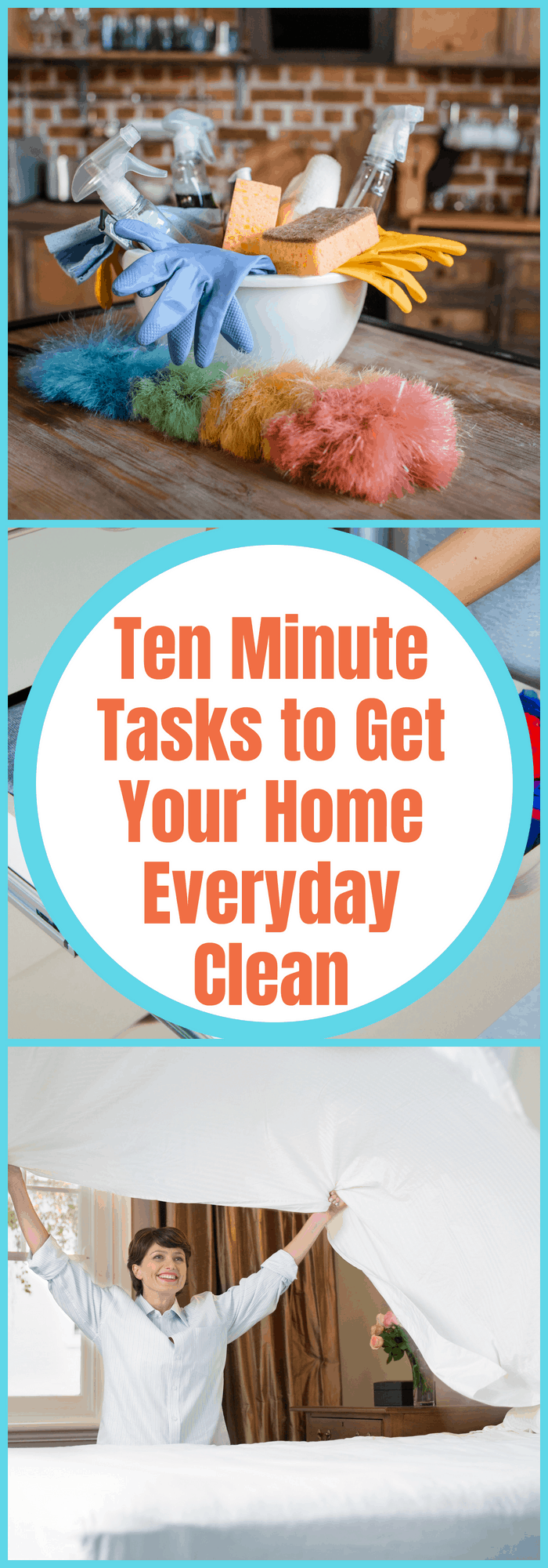 Ten Minute Tasks to Get Your Home Everyday Clean