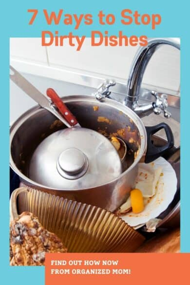 fewer dirty dishes